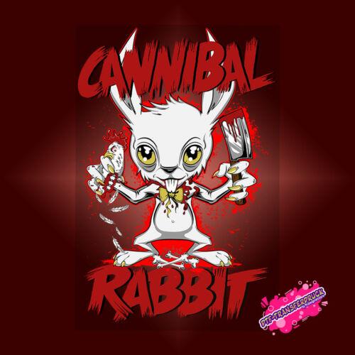 Cannibal Rabbit DTF Transferdruck